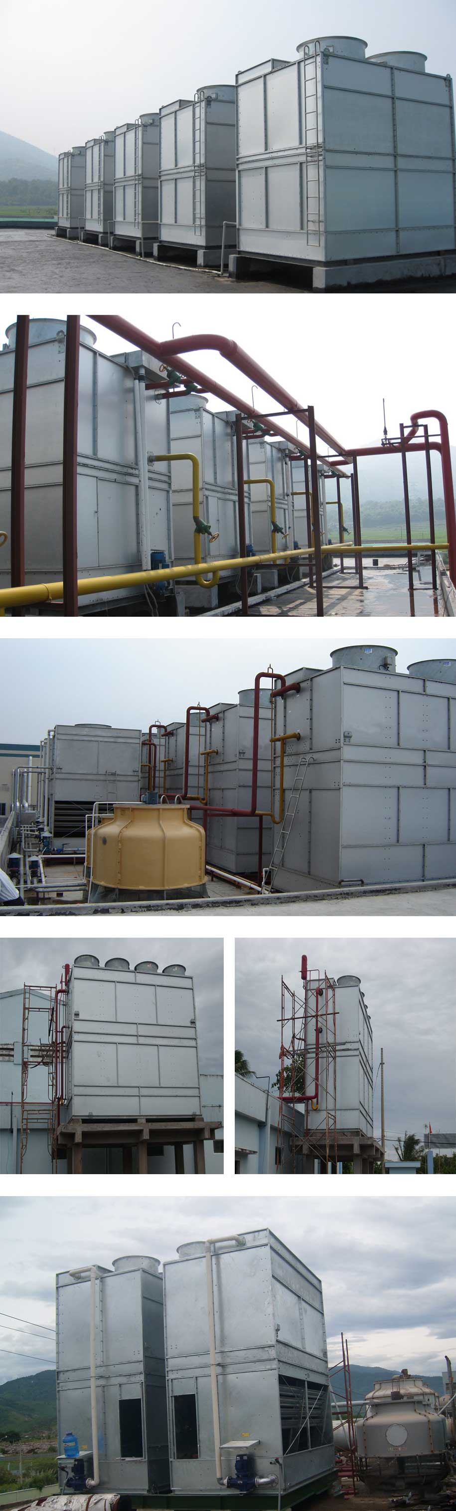 Project of Evaporative condenser