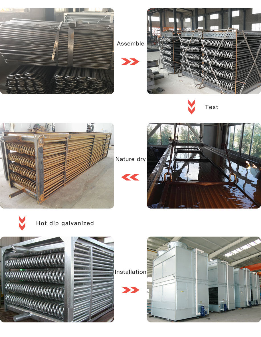 How to make the condenser coil