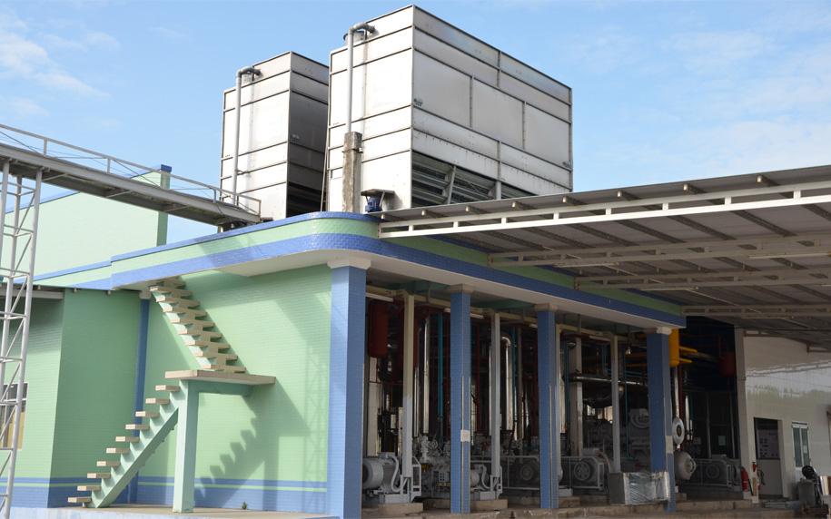 Project of Evaporative condenser